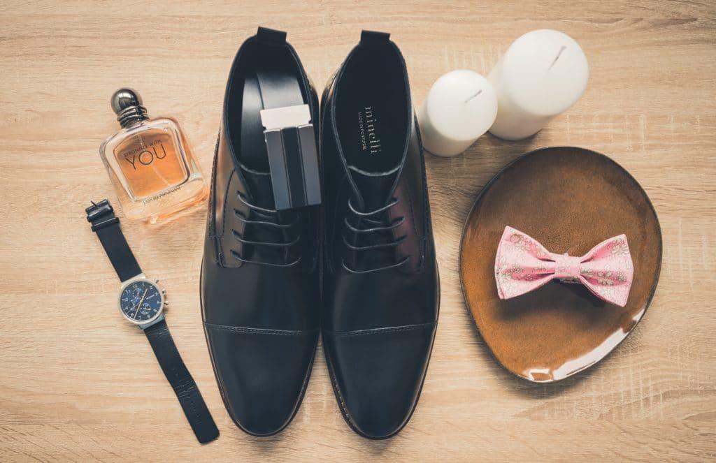 accessoires mariage montre chaussures parfum