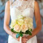 le bouquet de rose de la mariée