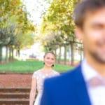 le first look à la découverte de la mariée