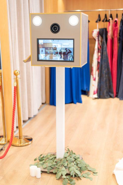 une borne photobooth pour un évènement mariage