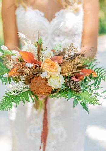 le beau bouquet de la mariée