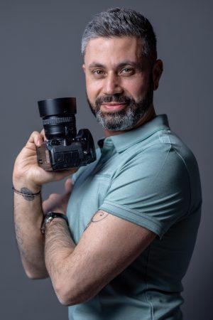 portrait de votre photographe sur Lyon