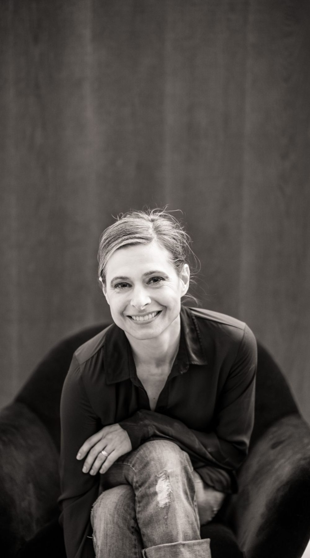 portrait d'une femme d'affaire à Lyon